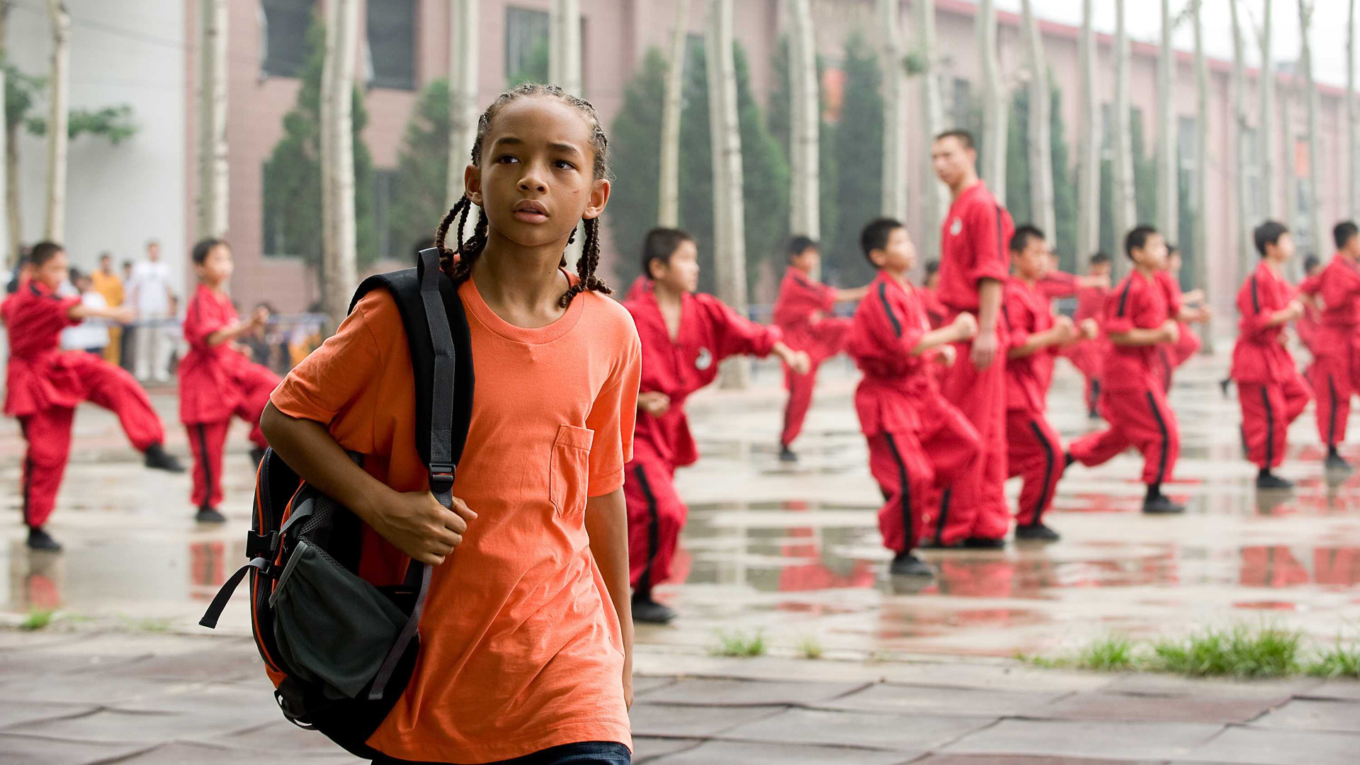 Karate Kid Jaden Smith Training image information