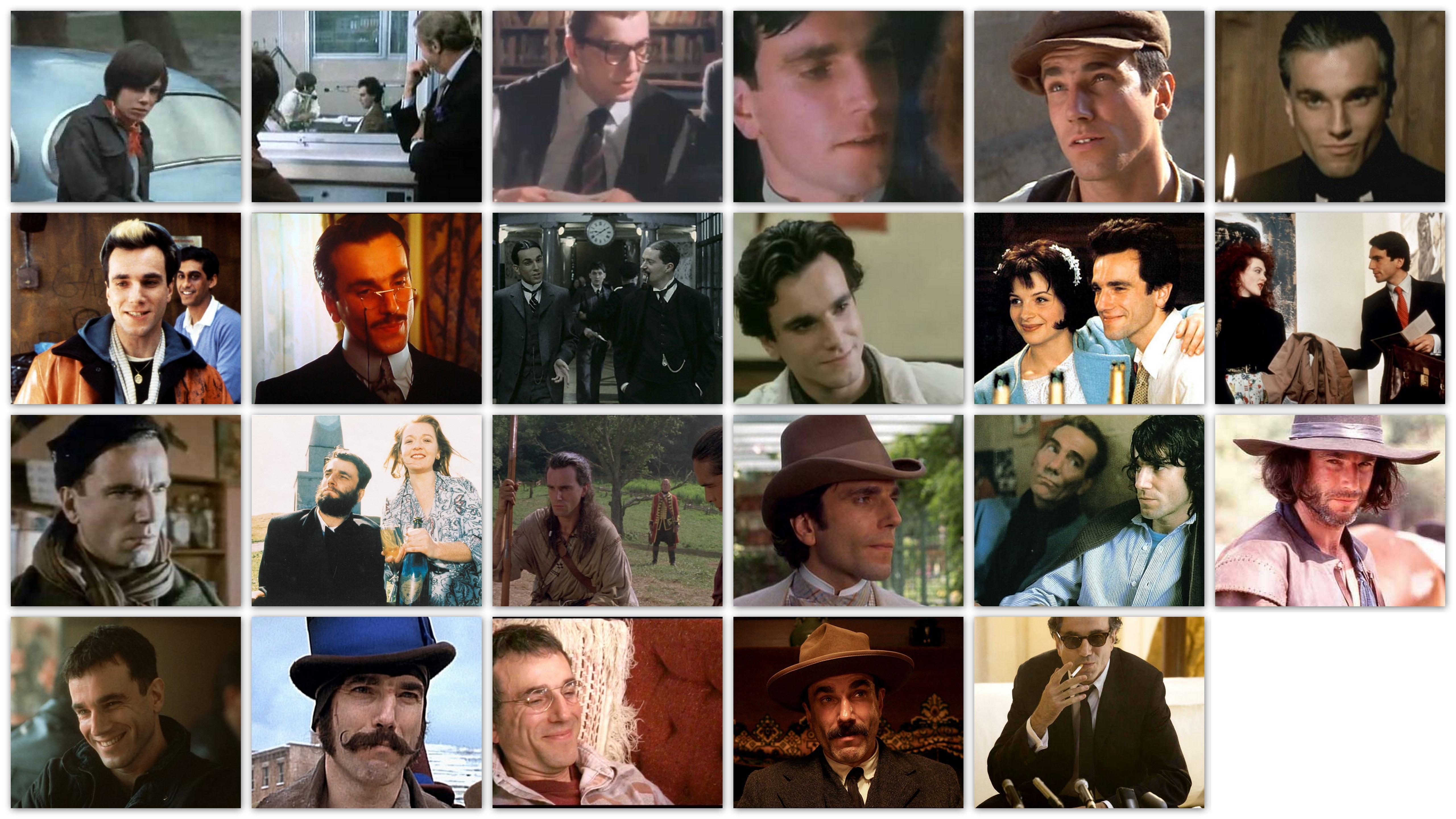 De vele gezichten van Daniel Day-Lewis