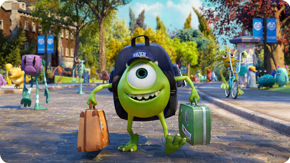 Review van Monsters University (2013)